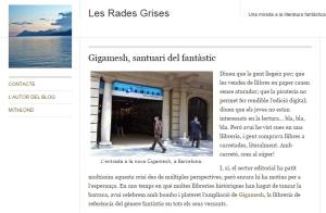 Article sobre la nova botiga Gigamesh