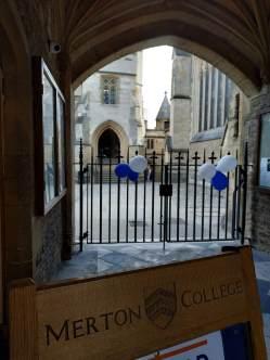 Merton College. / R.M.