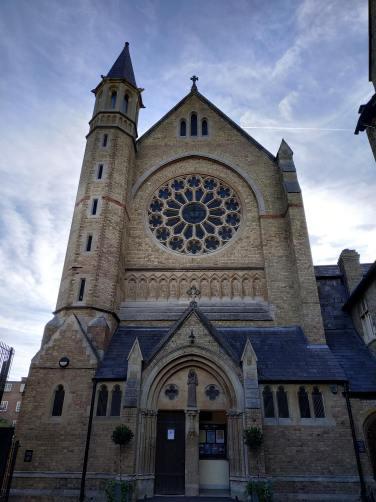 L'església de St. Aloysius. / R.M.